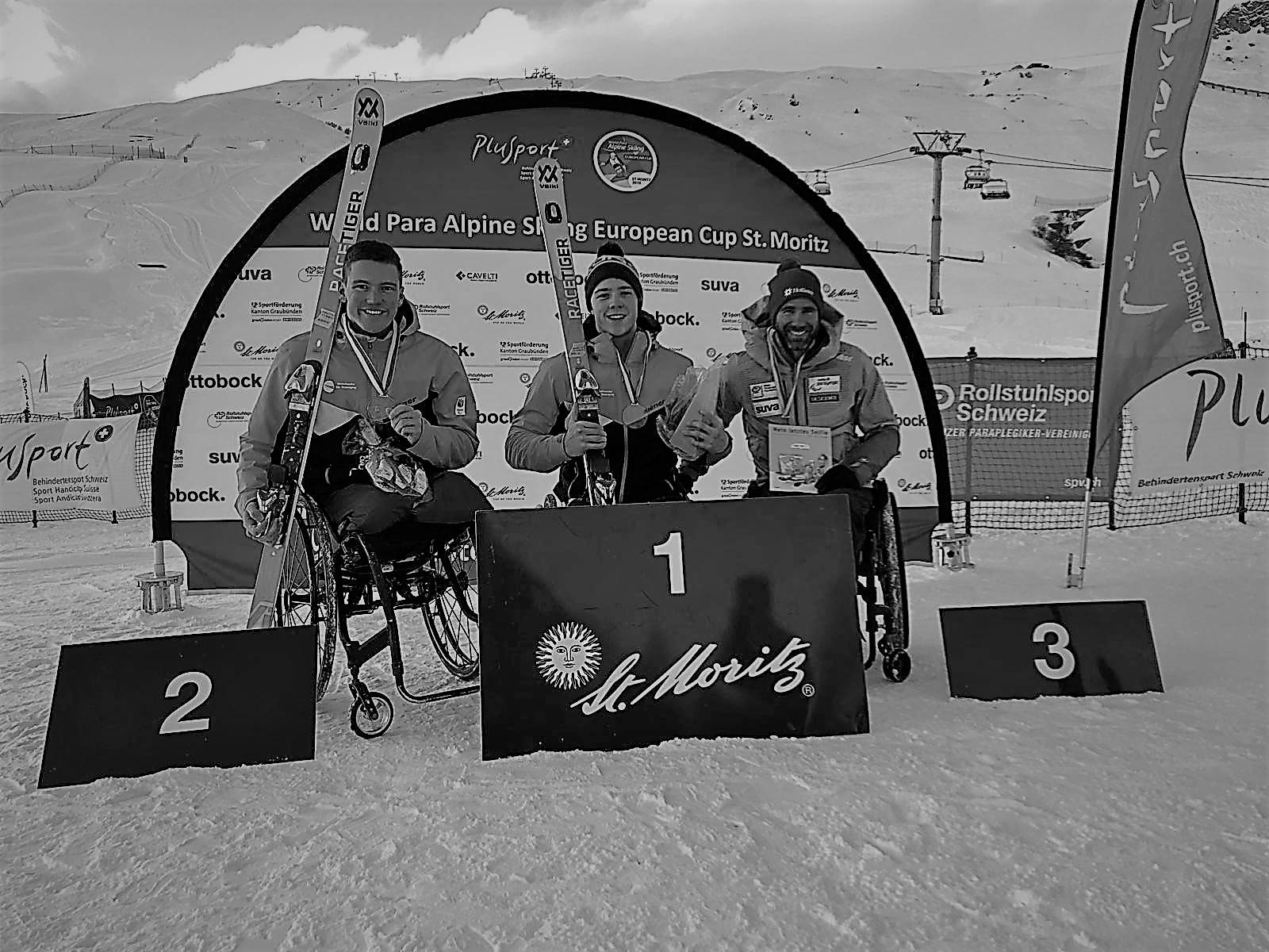 Foto podium St. Mortiz dec 2018